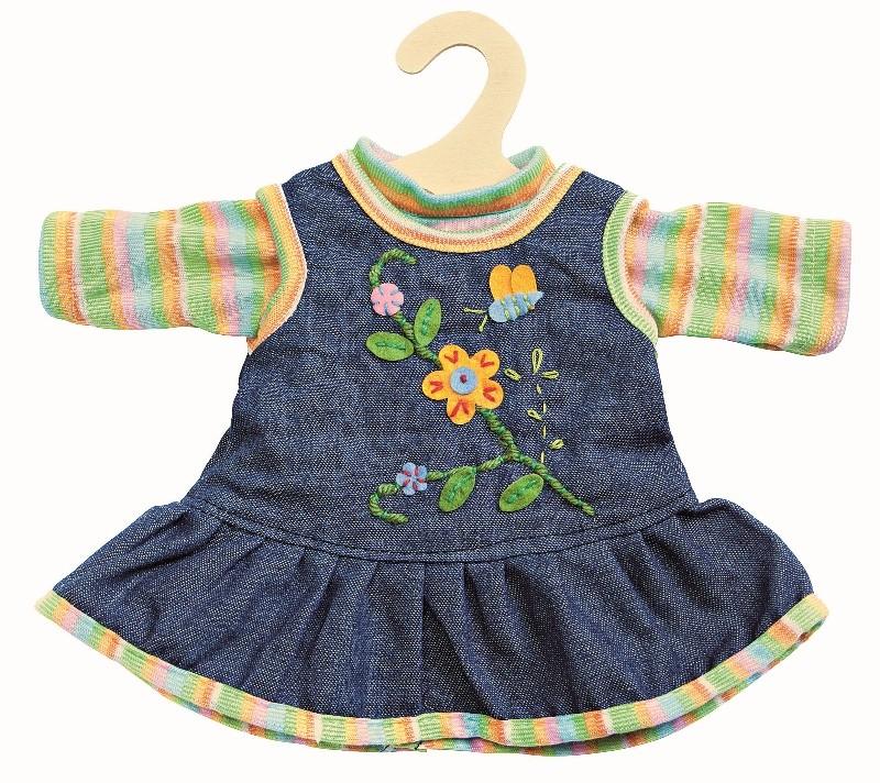 Oblečení Heless pro panenky 35 - 45 cm - Romantické šaty  68a7ae77b7