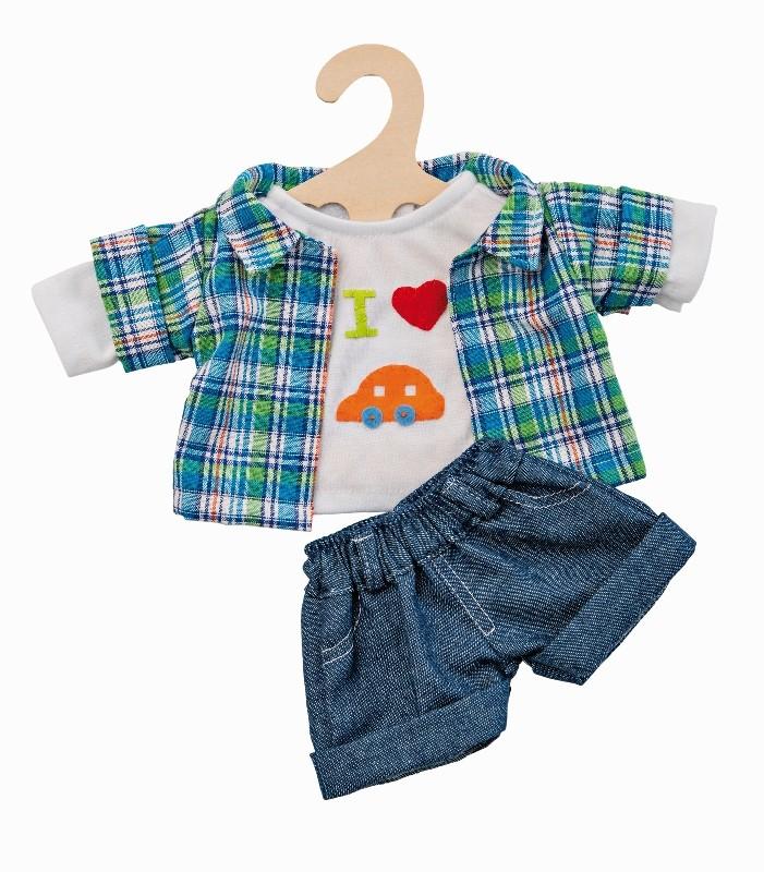 Oblečení pro panenky Heless letní komplet - kluci 35 - 45 cm  878be37c1b