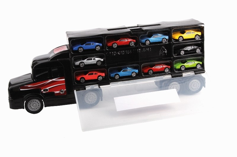 Hti Přepravn 237 Kamion Na Auta S 10 Modely Aut Nov 233