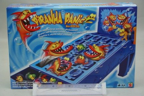 Hra - piraňa panika piraňa panika společenská hra
