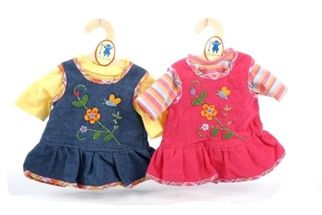 Oblečení Heless pro panenky 35 - 45 cm - Romantické šaty. Novinka 720831b980