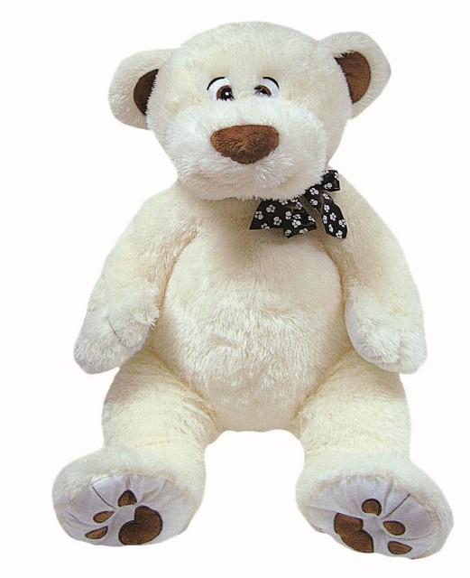 23a1905d0 Plyšový medvěd - medvídek bílý 80 cm Heunec nové