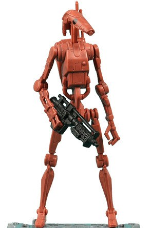Star Wars - BATTLE DROID sběratelská figurka