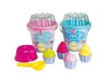 Sada na písek - Cup Cake - 12 dílů nové  zboží