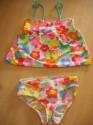 Dívčí dvojdílné plavky H & M vel. 122 / 128 použité