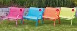 Dětská kvalitní lavička  - textil - zahradní