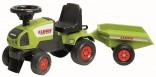 Dětské odrážedlo traktor Claas s vlekem FALK Nové zboží