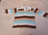 Dětské triko s dlouhým rukávem H&M vel. 80 použité