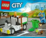 Lego CITY 30313 popelářský vůz NOVINKA
