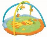 Dětská hrací deka s hrazdičkou - ŽIRAFA 90 cm NOVINKA