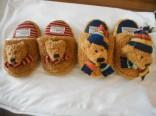 Dětské bačkůrky SunKid s medvídky NOVINKA