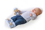 Kojenecké capáčky medvídek modré PlayShoes NOVINKA