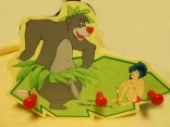 Dětský dřevěný věšáček - Mauglí p