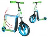 Koloběžka Scooter Highwaybuddy 2 v 1 modro/zelená NOVINKA