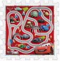 Pěnové puzzle Cars 31 x 31 cm - pěnový koberec NOVINKA