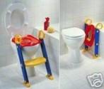Dětská židlička na WC - schůdky - barevné NOVINKA
