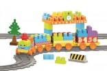 Dětský vláček + koleje DOLU Toy Factory nové AKCE
