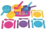 Dětské nádobíčko do kuchyňky - 24 dílů Nové zboží