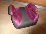Dětský velký podsedák do auta 15 - 36 kg fialový použité