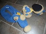 Dětské bačkůrky + šála SunKid s medvídky Nové zboží