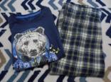 Dětské pyžamo Medvídek vel. 122 - 128 použité