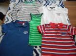 Dětská trička vel. 110 - 116 použité