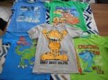 Dětská trička vel. 116 použité