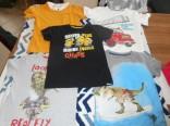 Dětská trička vel. 122 použité