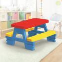 Dětský stůl + lavice Piknik Nové zboží