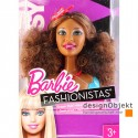 Barbie Fashionistas Swappin Styles hlava - Artsy II