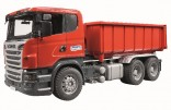 Bruder - nákladní auto SCANIA s kontejnerem 3522