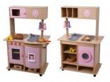 Velká dětská dřevěná kuchyňka MENTARI s příslušenstvím  Novinka
