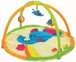 Dětská hrací deka s hrazdičkou - SLONÍK 90 cm NOVINKA