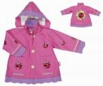 Dětská nepromokavá bunda pláštěnka Playshoes BERUŠKA velikost 104 - 140