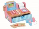 Dětská pokladna pro holčičky - DŘEVĚNÁ Mentari