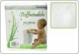 Dětské látkové pleny 70 x 70 cm - 10 ks - bílé nove