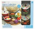 Dětské barevné nádobí PLAY GO s doplňky - 22 dílů NOVINKA