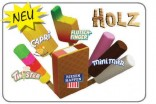 Dětské potraviny Mix nanuků - dřevěné NOVINKA