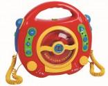 Dětský CD přehrávač - 2 mikrofony NOVINKA