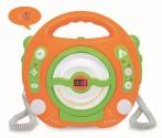 Dětský CD přehrávač DIGITAL s 2 mikrofony + USB !!! NOVINKA