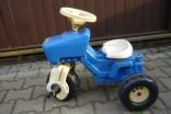 Dětský šlapací traktor Rolly Toys - modrý použité