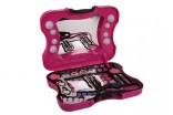 Velký kosmetický kufr se světlem - dětské šminky nové