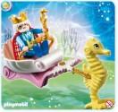Král moří v podmořském kočáře Playmobil 4815