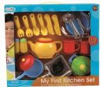 Nádobíčko do dětské kuchyňky - 19 dílů