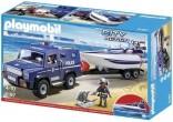 Playmobil 5187 Policejní truck s motorovým člunem Novinka