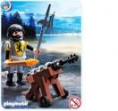 Playmobil Kanonýr řádu Černého lva 4870