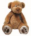Plyšový medvěd - medvídek hnědý XL 80 cm HEUNEC nové