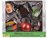 Set dětského nádobí + potraviny - 18 dílů nové