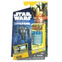 star wars saga legends super battle droid sběratelská  figurka